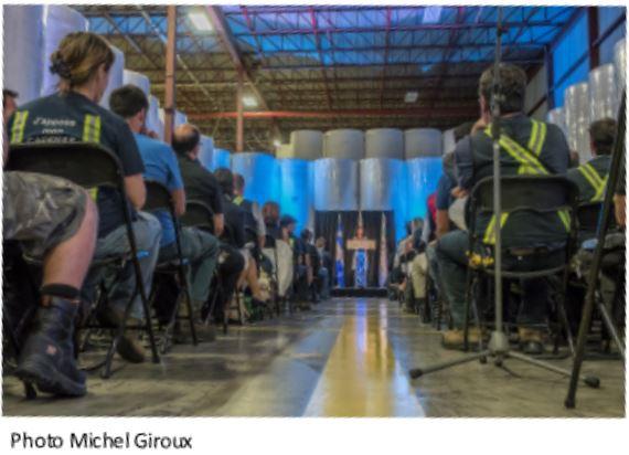 Les syndiqués de l'usine de papier de Crabtree saluent un investissement important