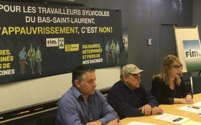 Grève imminente en sylviculture