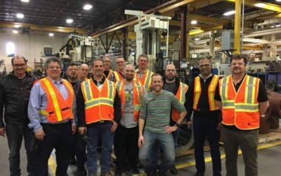 Visite des usines de Montréal (vendredi 15 mars)