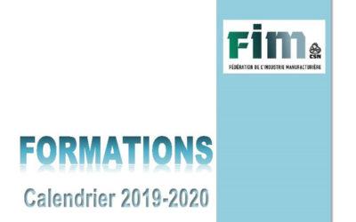 ANNULATION – Formations FIM