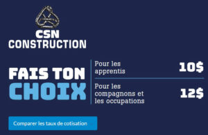Calculateur cotisations CSN-Construction